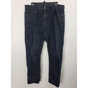 Gap Slim Straight Leg Black Denim Jean